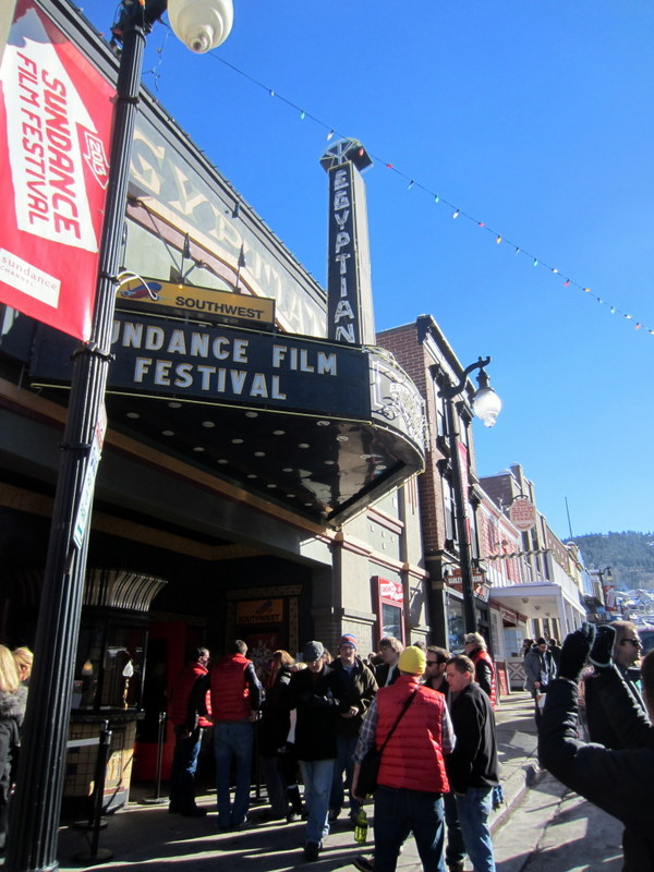 The legendary Egyptian theater of Park City.